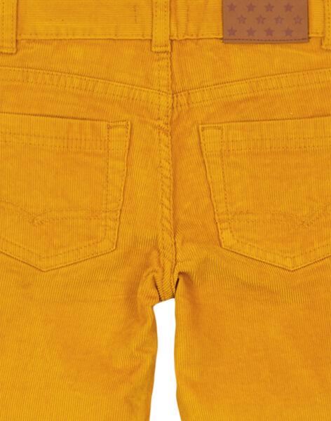 Pantalon En velours Ocre Regular GOJOPAVEL9 / 19W902L3D2BB107