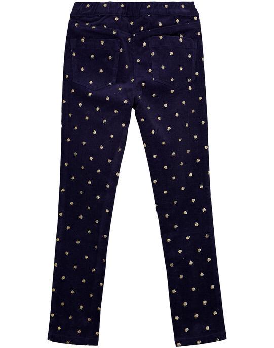 Pantalon Bleu marine GASANPANT / 19W901C1PAN070