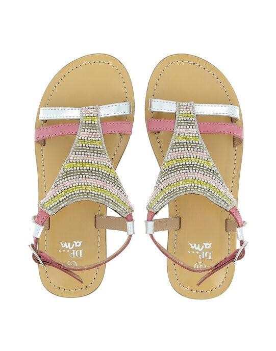 Sandale en cuir fille CFSANDTRI / 18SK35WDD0E956