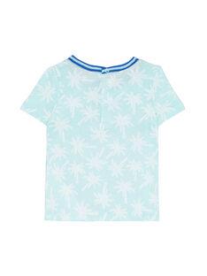 Tee Shirt Manches Courtes Bleu JUQUATI1 / 20SG10R1TMC210