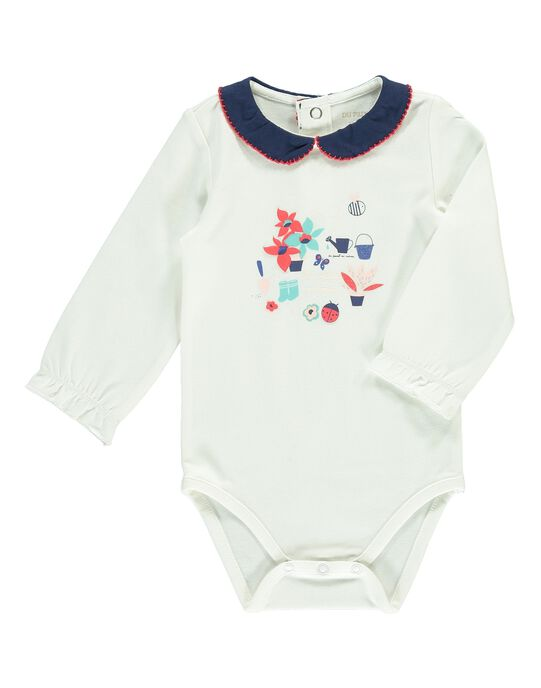 Body manches longues fille CIDEBODY / 18SG09F1BOD001
