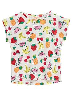 T-shirt manche courte, imprimé fruits  JAJOTI6 / 20S901T2D31001