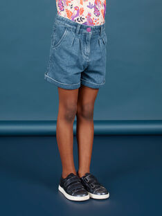 Short en jean enfant fille MAPASHORT / 21W901H1SHOP269