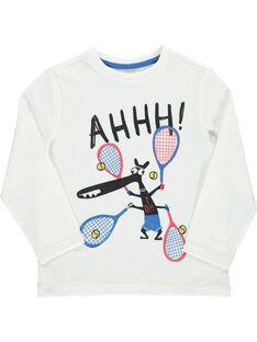 Tee-shirt manches longues garçon DOROUTEE2 / 18W90221TML001