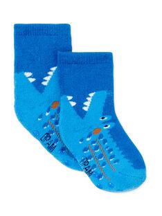Paire de chaussettes layette garçon KYUSACHOB2 / 20WI10O1SOQC226