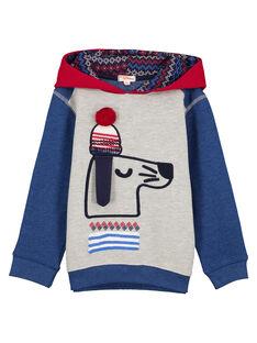 Sweat Shirt Tricolore Animé.  GOTRISWE / 19W902J1SWE943