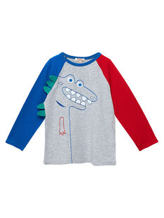 Tee Shirt Manches Longues Gris JOGRATEE2 / 20S902E1TMLJ920