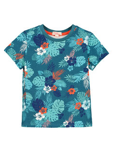 Tee-shirt manches courtes garçon FOCUTI7 / 19S902N7TMC715