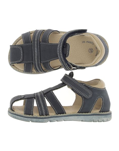 Sandale en cuir garçon CGSANDREG / 18SK36W2D0E070