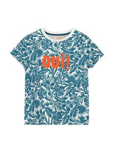 Tee-shirt fantaisie garçon FOCUTI1 / 19S902N2TMC001