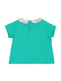 Tee-shirt manches courtes bébé fille FICABRA / 19SG09D1BRA209