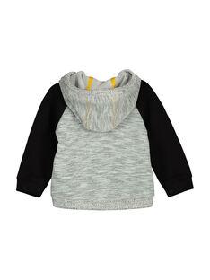 Gilet zippé à capuche bébé garçon FULIHOJOG / 19SG1022GIL099