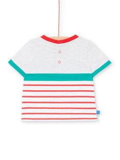 Tee Shirt Manches Courtes Gris LUVITI2 / 21SG10U2TMCJ920