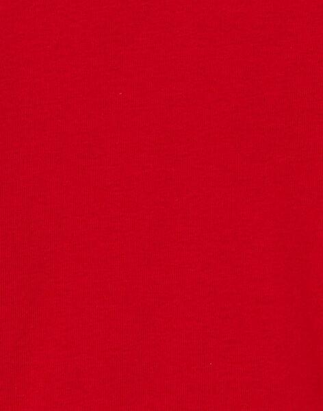 Sous pull rouge garçon KOJOSOUP2 / 20W90246D3BF518