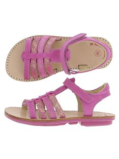 Sandale en cuir fille CFSANDFUSH / 18SK35W1D0E304