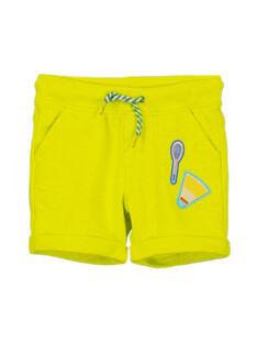 Bermuda jaune garçon FOCABER3 / 19S902D3BER117