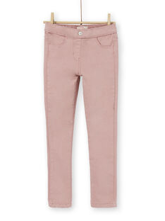 jegging garment dyed rose KAJOJEG3 / 20W90153D2B303