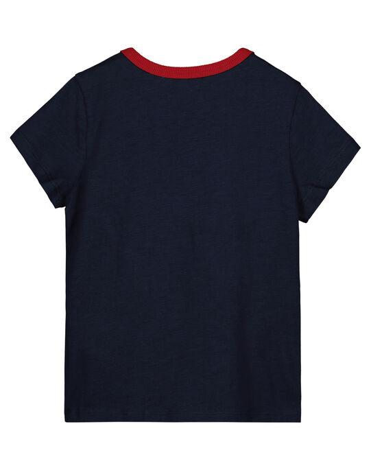 Tee Shirt Manches Courtes Marine Petit Dragon GOVETI1 / 19W90222TMC705