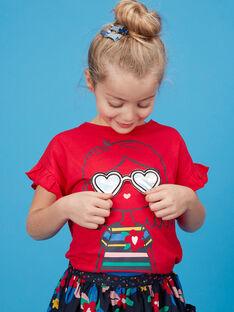 Tee Shirt Manches Courtes Rouge JAGRATI2 / 20S901E2TMC050