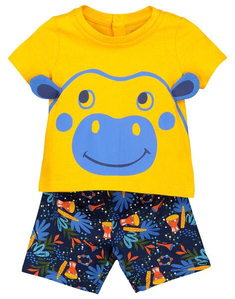 Pyjama short bébé garçon FEGAPYJUN / 19SH14H1PYJ402