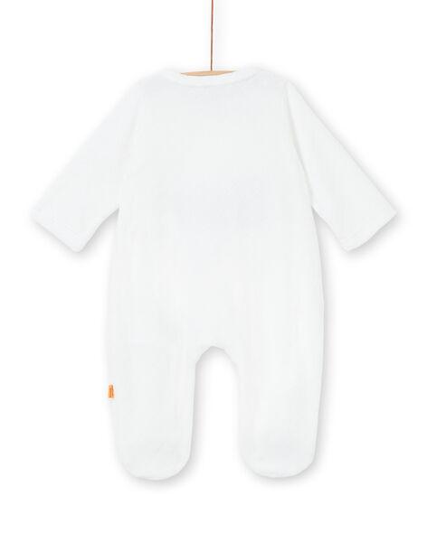 Grenouillère blanche naissance LOU1GRE4 / 21SF05H1GRE000
