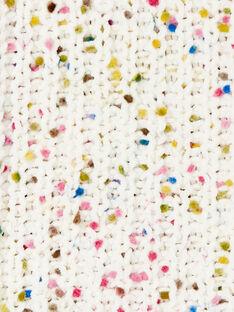 Pull à col montant, tacheté multicolore KABOPULL2 / 20W901N1PUL001