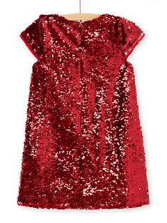 Robe manches courtes en sequins réversibles KANOROB4 / 20W901Q4ROBF529