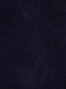 Pantalon velours côtelé KUJOPAN4 / 20WG1054PAN713