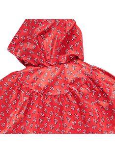 Cape de pluie bébé fille CIDECAPE / 18SG09F1CPE099