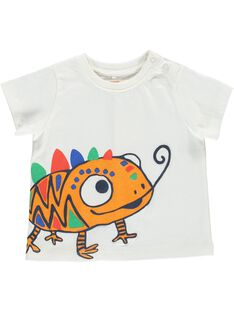 Tee-shirt manches courtes bébé garçon CUGAUTI3 / 18SG10L3TMC001