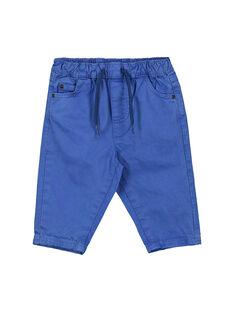 Pantalon bleu bébé garçon FUJOPAN2 / 19SG1032PANC207
