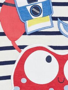 Tee Shirt Manches Courtes Ecru JUCEATI2 / 20SG10N1TMC001