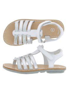 Sandale en cuir fille CFSANDIBEL / 18SK35W2D0E000