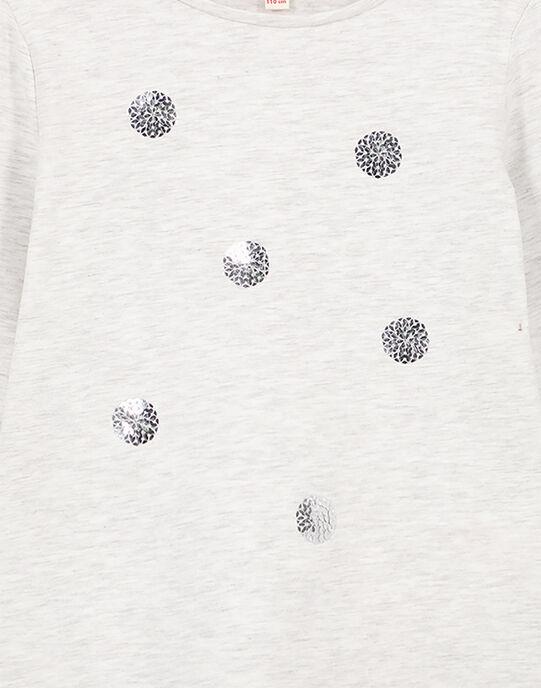 T-Shirt manches longues avec sequins brillants. GAJOYTEE2 / 19W90131D32943