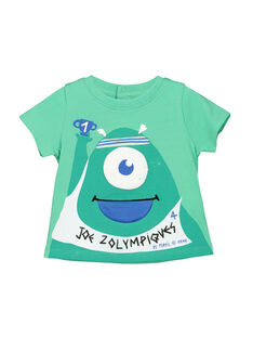 Tee-shirt manches courtes bébé garçon FUNETI1 / 19SG10B1TMC602
