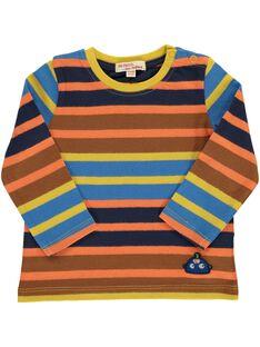 Tee-shirt rayé bébé garçon DUBLETEE3 / 18WG1093TML099