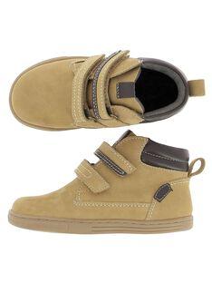 Boots en cuir garçon DGBOOTBAS / 18WK36T3D0D804