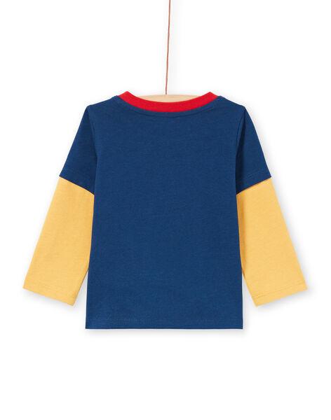 T-shirt colorblock animation lapin bébé garçon MUMIXTEE3 / 21WG10J2TML713