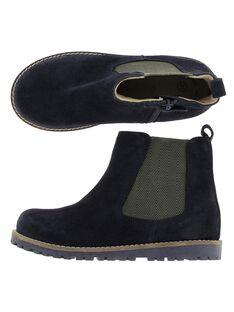 Boots en cuir garçon DGBOOTCHE1 / 18WK36T1D0D070