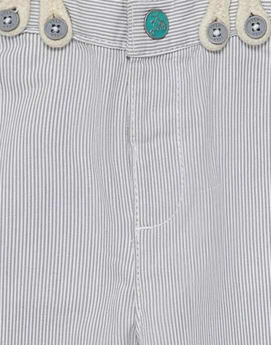 Pantalon Blanc JUPOEPAN / 20SG10G1PAN000