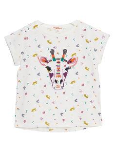 Tee Shirt Manches Courtes Ecru JASAUTI2 / 20S901Q1TMC001