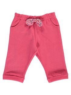 Pantalon de jogging bébé fille CIJOJOB2 / 18SG09R2JGBF503