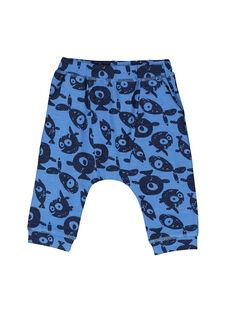 Pantalon fantaisie bébé garçon FUNEPAN2 / 19SG10B2PAN099