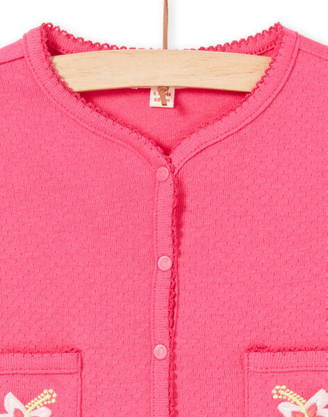 Cardigan Rose LIBONCAR / 21SG09W1CAR302