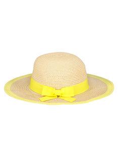 Chapeau capeline fille FYAPOHAT2 / 19SI01C2CHA009