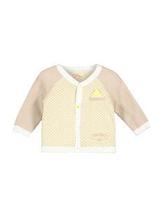 Gilet en maille bébé garçon FUPOGIL / 19SG10C1GIL099