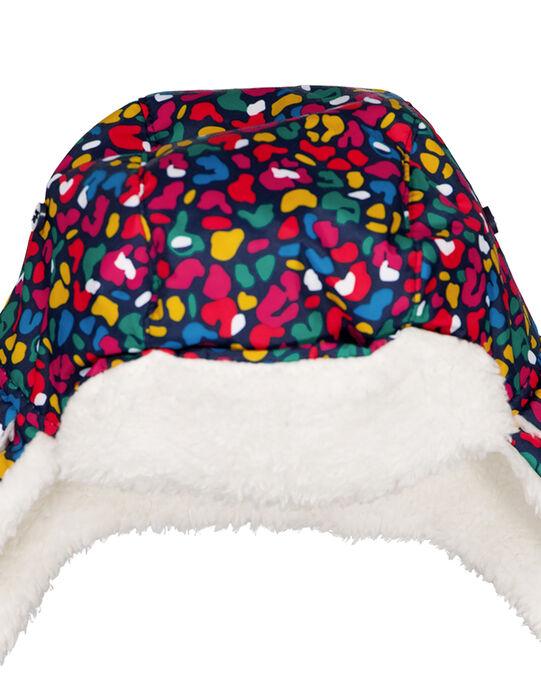 Chapka à motif multi couleur. GYASKICHAP / 19WI01W1BON070