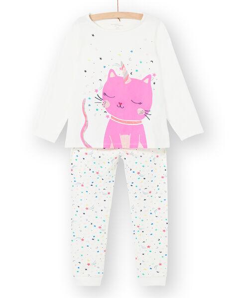 Pyjama Ecru LEFAPYJCAT / 21SH1151PYJ001