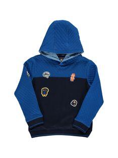 Sweat Shirt Bleu nuit DOBLESWE2 / 18W90292SWEC205