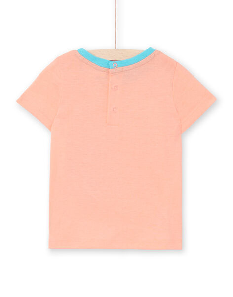 Tee Shirt Manches Courtes Rose fluo LUBONTI3 / 21SG10W2TMCD311